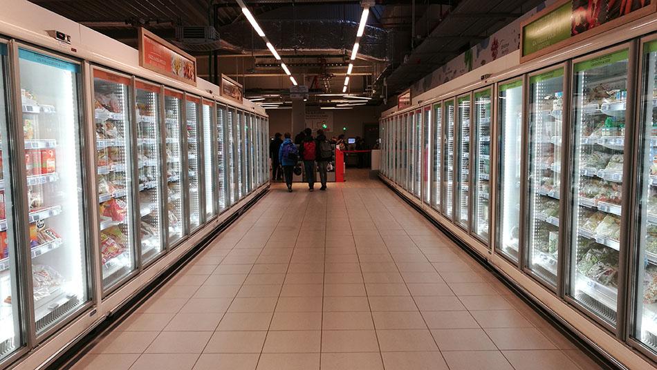 arredamento supermercato delhaize bruxelles isa professional