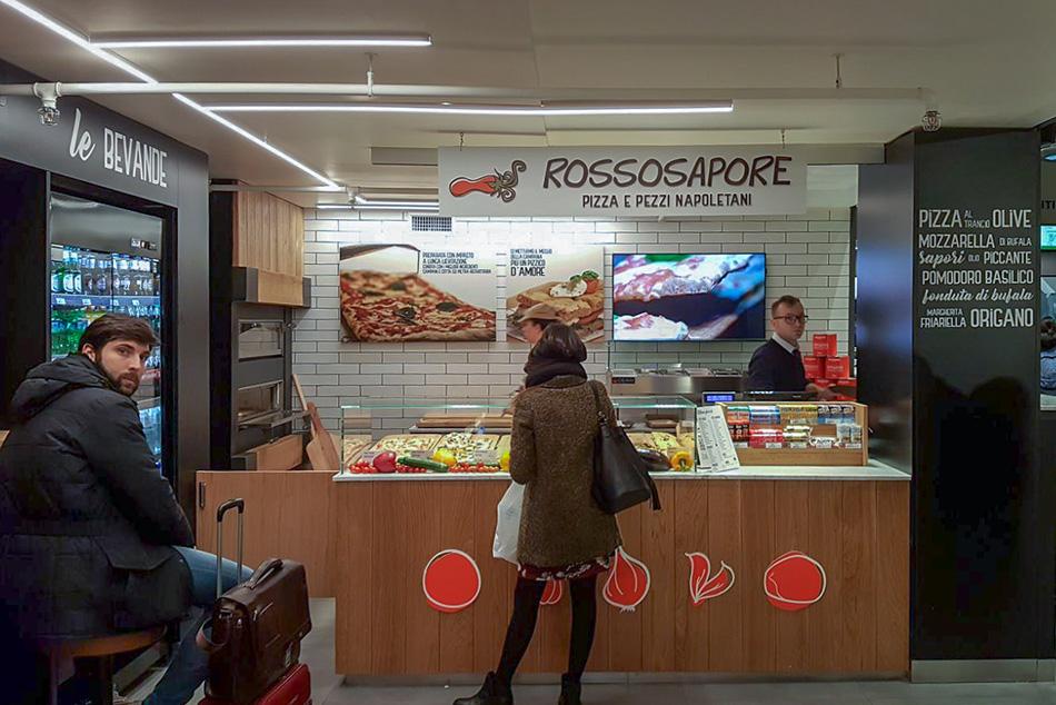 Arredamento ristorante area di servizio chef express for Bergamin arredamenti mestre
