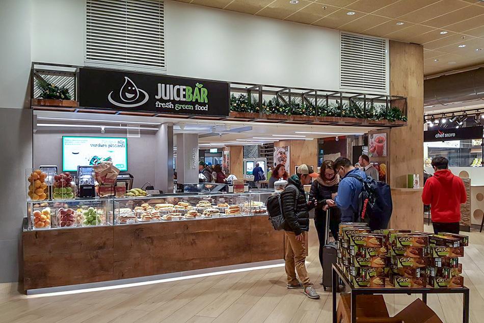 Arredamento ristorante area di servizio chef express for Arredamento mestre