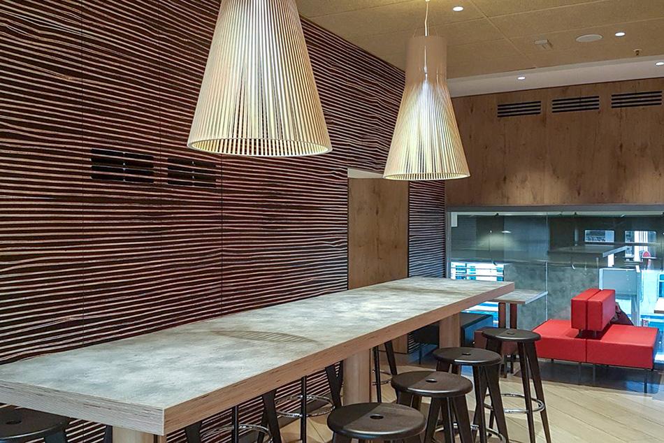 Arredamento ristorante area di servizio chef express for Isa arredamenti